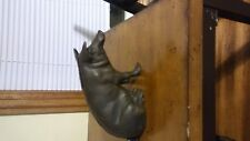 Vintage Cast Iron Pig Piggy Bank Souvenir Chicago Stockyards