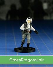 Star Wars miniatures mini Imperial Entanglements Rebel Trooper #08 & card