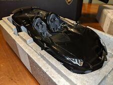1/18 AutoArt Lamborghini Aventador J in Black ***MINT IN BOX!***