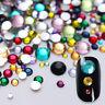 3D Nail Art Ongle Strass Rivet Résine Glitter Diamants Cristal Tips Décor Bijoux