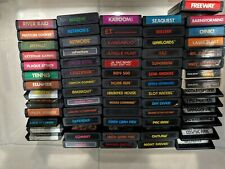 Atari 2600 66 Game Lot (Mario Bros., Pressure Cooker, Plaque Attack, and More!)