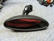 BMW E46 M3 oval rear view mirror ( for parts ) OEM