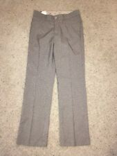NWT Women's Lee Beige And Blue Dress Pants Size 6 Stretch