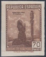 España Spain NE 52s 1939 No Emitido Correo de Campaña Nuevo Sin goma