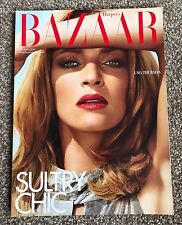 Very Rare Harpers Bazaar UK Magazine July 2009 - Uma Thurman