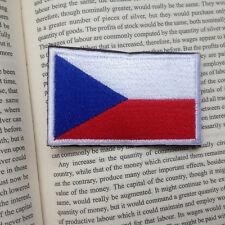 THE CZECH REPUBLIC FLAG CZ CZE CZECHIA FLAG Česká republika 3D EMBROIDERED PATCH