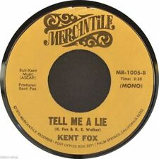 "7"" KENT FOX Benjamin Ben Franklin Said It b/w Tell Me A Lie MERCANTILE USA 1975"