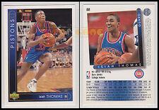 NBA UPPER DECK 1993/94 - Isiah Thomas # 88 - Pistons - Ita/Eng - MINT