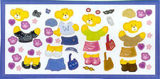 BUILD A BEAR WORKSHOP wall stickers 52 decals interactive accessories fun decor