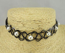 Pearl Chokers Plastic Fashion Necklaces & Pendants