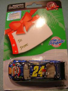 #24 Jeff Gordon 2009 SAM BASS HAPPY HOLIDAYS 1/64 Action NASCAR Diecast