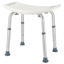 350lb Adjustable Height Bath Shower Tub Bench Shower Chair W/ Non-Slip Seat&Feet