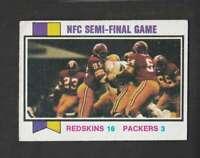 1973 Topps #135 NFC Semi-Final Game VGEX 155655
