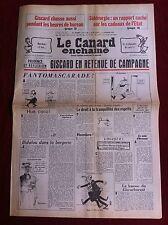 Le Canard Enchainé 11/02/1981; Sidérurgie; rapport caché sur les cadeaux de l'ét