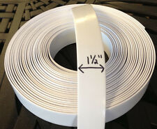 """1.5"""""""" Vinyl Strap For Patio Furniture Repair 45' Roll -COLOR Choice! +50 Rivets"""