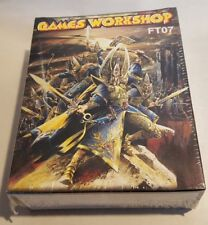 GW Warhammer Elves Warband Toybox FT07 - PLASTIC SEALED BOX RARE OOP