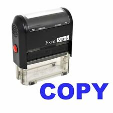 COPY - ExcelMark Self Inking Rubber Stamp A1539 | Blue Ink