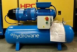 New! Hydrovane HV01 Receiver Mounted Rotary Vane Compressor 230V! Single Phase!