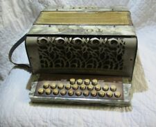 Original WWII Vintage La Tosca Diatonic Button Liliput Accordion- Gretsch- HTF