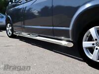 OE Style Black Side Bar Sport Sportline Tube for VW T5 T6 LWB Transporter SUS201