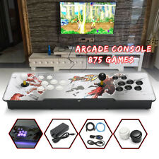 875 Games Double Sticks Arcade Console Pandora Box 4S VGA+HDMI+USB Cable+ Light