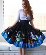 Pinup Couture x Stephanie Buscema Mermaid Print Skirt - size XL