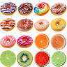 Sofa Tie On Seat Chair Pad 3D Fruit Donut Office Cushion Comfortable Pillow Mat