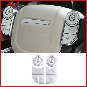 For Land Rover Range Sport 2014-2017 inner Steering wheel Button cover trim