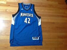 Adidas NBA Minnesota #42 Kevin Love Athletic Jersey Men's Size L