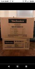 Technics SC-DV290 DVD Hi Fi Separates System + Speakers + Cables. In excellent c