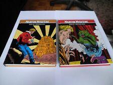 MARTIN MYSTERE - LIBELLUS - COMIC BOOKS 12&17 - CROATIAN LANGUAGE - HARD COVERS