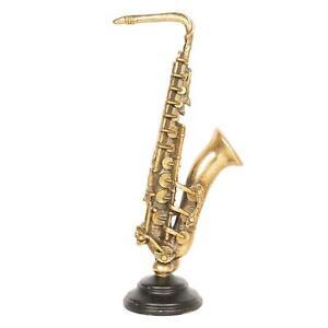 Saxophone Musical Instrument Ornament Decoration 38cm
