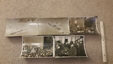 Lot of Five (5) LARGE WWI WW1 photos - BB-46 USS Maryland Launch - 3/20/1920
