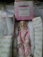 "Vintage Ashton Drake Galleries Meagan Rose Porcelain Baby Doll 1993 76981 ""New"""
