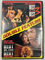 BEST OF THE BEST 3 & 4 DOUBLE FEATURE DVD RARE
