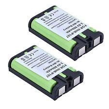 2x 800mAh Cordless Phone Battery for Panasonic HHR-P107 HHR-P107A/1B HHRP107A/1B