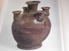 SHIRASHI Ware Ash-Glazed Pottery Japanese Antique Ceramic Art Book 6 Nara Heian