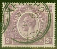 KUT 1922 2s Dull Purple SG88 Fine Used