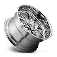 17x7 Us Mag Rambler U110 5x4.5 ET1 Chrome Wheels (Set of 4)