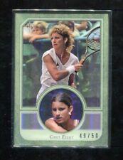 2020 Topps Transcendent Tennis Chris Evert Metal Frame Base Card 49/50