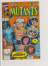 NEW MUTANTS #87 MARVEL First Appearance of CABLE NM CGC CBCS Ready KEY