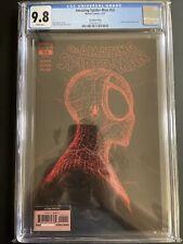 Amazing Spiderman 55 CGC 9.8 2nd Print Gleason Red Web Head on Black Variant Cvr