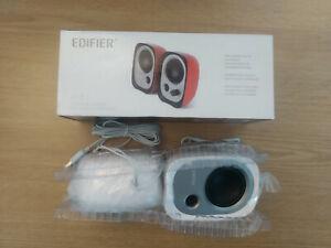 Edifier R12U 2.0 Active Usb Multimedia Speakers, 4w Black for laptop or smart tv