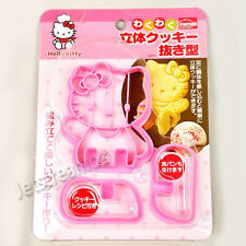 Hello Kitty 3D Cookie Sandwich Biscuit Toast Cutter Mold Cake Decoration