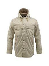 Burton Restricted Compile Snowboard Jacket (L) Burlap / White Stripe