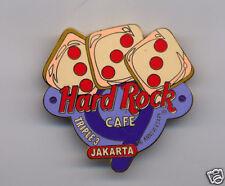 JAKARTA HARD ROCK CAFE 9TH ANNIVERSARY DICE (TRIPLE 3)