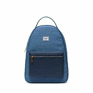 Herschel Nova Mid Volume 18Ltr Back Pack School Bag Faded Denim-Indigo Denim#5P2