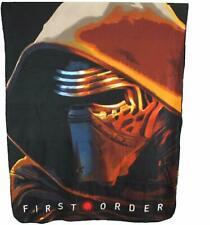 "Disney Star Wars Kylo Ren First Order Blanket Fleece Throw 46""x60"" New"