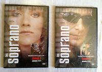 LES SOPRANO - 2 DVD SAISON 1 EPISODES 3 & 4 / 5 & 6 NEUF SOUS BLISTER