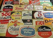 325 Vintage Us Beer Labels Unused 1920's-1980's 31 Irtp'S